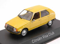Model Car Scale 1:43 Norev Citroen Citroën Visa Club diecast vehicles
