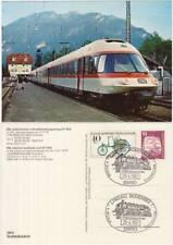 DB ELECTRIC MULTIPLE UNIT ET 403 LINDAU BODENSEE - TRENO + ANNULLO 1982