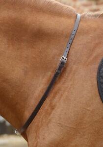 Premier Equine Altino Leather Neck Strap - Dark Brown Premier Equine