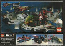 X2613 LEGO Spazio - Trasporto galattico prigionieri - Pubblicità 1990 - Advert.