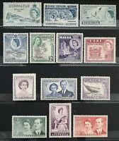 1953-1954 > UK > British Colony > Royal Queen Elizabeth II Visited > Unused, OG.