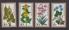 WEST GERMANY MNH STAMP DEUTSCHE BUNDESPOST 1978 WOODLAND FLOWERS SG 1873 -1876