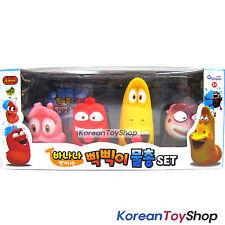Larva Korean Comic Show Water Gun Whistle Figure 4 pcs Characters Toy Set