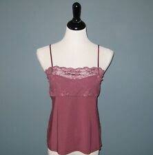 NWT Hanro of Switzerland Gala Silk Blend Mauve Camisole Top #9618 - L FINAL SALE