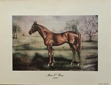 1920 Lithograph of MAN O' WAR by Claude Jackson Recent Found Stock