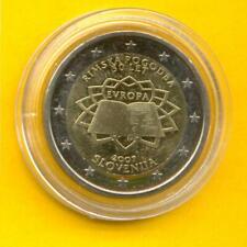 2 Euro Slowenien 2007 Römische Verträge unc