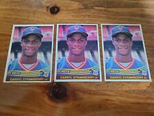 1984 Donruss Darryl Strawberry #68 Baseball Card LOT OF 3!!! NICE!!!
