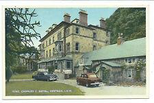 ISLE OF WIGHT - KING CHARLES I HOTEL, VENTNOR  Postcard