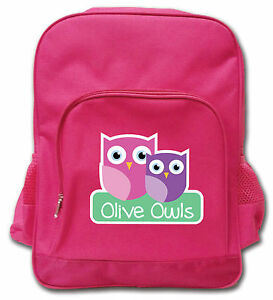 Personalised Kids Backpack for School, Kindergarten, Daycare