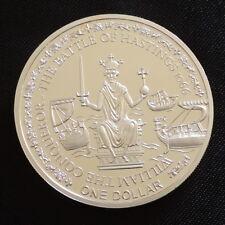 2010 Fiji Prova Di $1 MONETA GUGLIELMO IL CONQUISTATORE BATTAGLIA Hastings