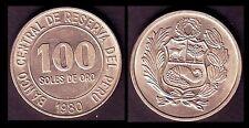★★ PEROU / PERU ● 100 SOLES 1980 ● (ref63) ★★