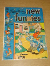 NEW FUNNIES #153 FR+ (1.5) ANDY PANDA WOODY WOODPECKER DELL COMICS NOVEMBER 1949