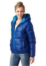 Adidas Damen Daunenjacke DOWN ENTRY, Gr. S, blau NEU, 1A-Ware