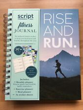 Script Fitness Journal Rise And Run Planner