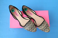 """Betsey Johnson """"Cocoh""""  size 8 black/multicolor shoes - New in B ox"""