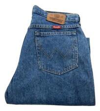 """Wrangler Relaxed Fit Tapered Leg Jeans Waist 32"""" Leg 32"""" Zip Fly (P1647)"""