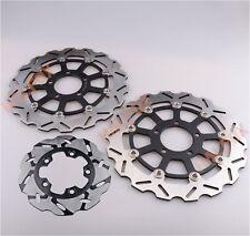 Rear Brake Disc Rotor Pads For Suzuki GSXR 600 750 2004 2005 GSXR 1000 01-06 Motorcycle Brake Rotors