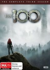 The 100 : Season 3 (DVD, 2016, 4-Disc Set)