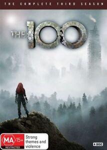 The 100 : Season 3 (DVD, 2016, 4-Disc Set)