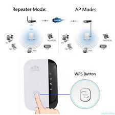 Wifi Wireless Repeater Verstärker 300Mbps 802.11N Router Signalverstärker Neu