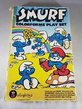 Vintage Smurfs Colorforms Play Set 1981 Peyo