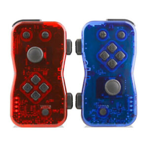 Nyko Dualies Pair of Motion Controllers for Nintendo Switch (Red/Blue)