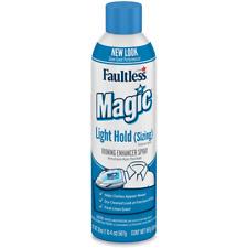 2x Faultless Starch Magic Fabric Light Finish Ironing Spray Sizing 20 Oz 2pcs