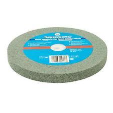 Silverline Green Silicon Carbide Bench Grinding Wheel 200 X 20mm Medium 976303