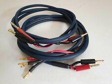Audioquest Type 4 speaker cable, Bi-wire, 2 x 2,00 m
