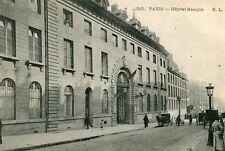 Carte PARIS Hôpital Beaujon