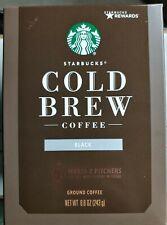 Starbucks Cold Brew Coffee Medium Roast Black 3 8.6 oz bags