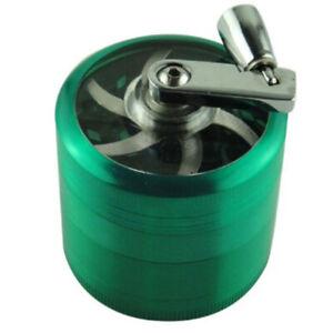 4-Layer Aluminum Smoke Grinder Grinder Weed Grinder Cigarette Accessories