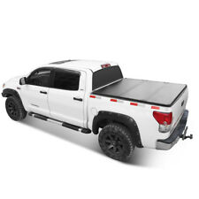 For 2004-2014 Ford F-150 Lock Hard Solid Tri-Fold Tonneau Cover 5.5ft Truck Bed