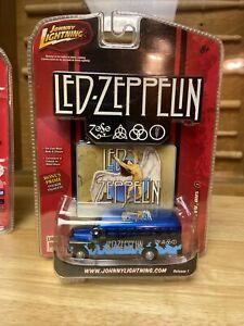 New Johnny Lightning Led Zeppelin Chevy Bus