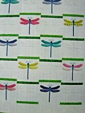 Sewing Quilt Pattern DRAGONFLY Wall Hanging Or Twin Size By Amy Bradley Designs