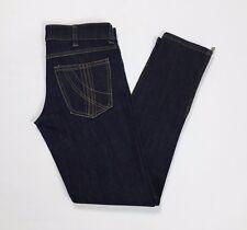 Divina jeans skinny slim stretti aderenti blu donna w24 tg 38 zip stretch T2696