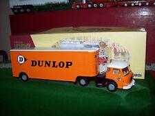 """Corgi Modern Truck EX70904 RENAULT JL20 ET REMORQUE FRUEHAUF """"DUNLOP"""" 1/50"""