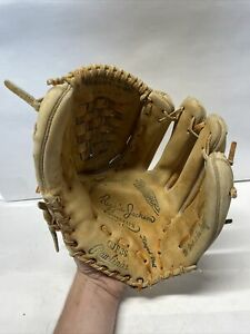 Reggie Jackson Autograph Rawlings Baseball Glove RHT GJF36 Softball Size