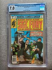 Sgt Fury and his Howling Commandos #152 CGC graded 7.0 FN/VF Jun 1979