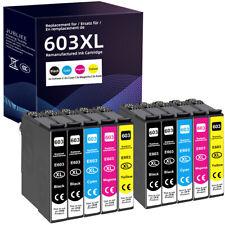 Druckerpatronen für Epson 603 XL XP-3100 2105 4100 WF-2830 WF-2850 2810 2835 DWF