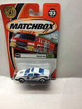 MATCHBOX MB53 GENERIC POLICE CAR 2002 SERIES