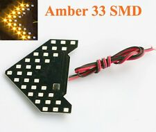 2x Amber 33 SMD Sequential LED Arrows Panel for Side Mirror Turn Light US POST