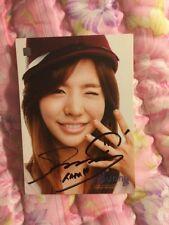 SNSD SUNNY STARCARD SIGNED AUTOGRAPHED Official photocard Card Kpop K-pop