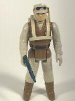 Star Wars Vintage Figure Rebel Soldier Complete w/Pack And Blaster LFL 1980 HK