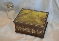 "Wooden Music Jewelry Box by Therle Plays ""I'd like to teach the world to sing"""