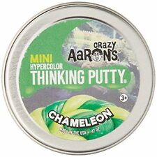 CHAMELEON HYPERCOLOR Heat Sensitive Crazy Aaron's Thinking Putty 2 inch .47oz