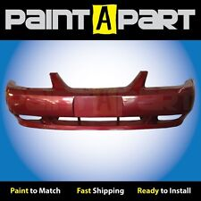 1999 2000 2001 Ford Mustang GTFront Bumper Painted E9 Laser Red Metallic