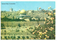 Jerusalem: General View of Jerusalem, Israel, Palestine Rare Vintage Postcard