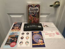 Disney Masterpiece Collection Snow White & The Seven Dwarfs VHS