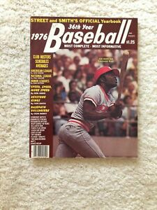 Street Smith Baseball Yearbook Joe Morgan Cincinnati 1976